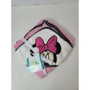 Disney Baby Mickey Mouse 100% Hooded Cotton Towel